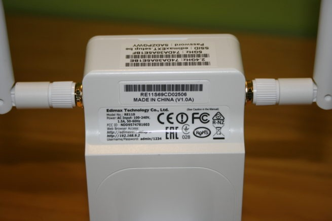 Learn about the Edimax Gemini RE11S Wi-Fi mesh system sticker